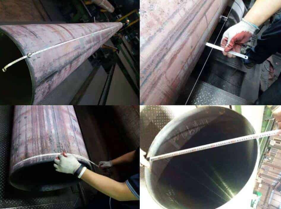 pipe dimension inspection