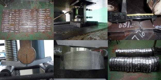Destructive bend Testing for pipe
