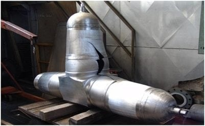 Rupture test (Burst Test) for pipe fittings