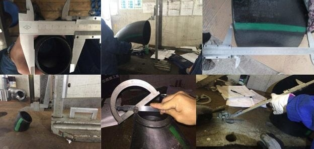 pipe fitting Dimension inspection