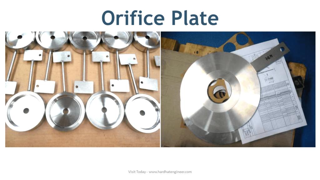 orifice plate flat and rtj type