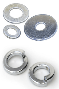 Disk and split type Washers