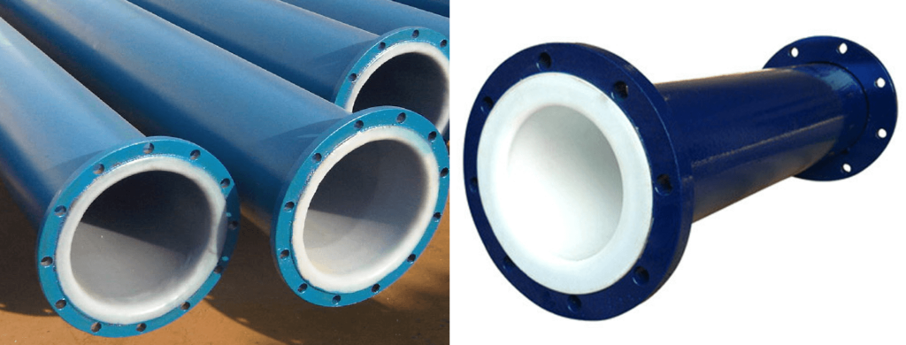 PTFE Lined carbon steel Pipe