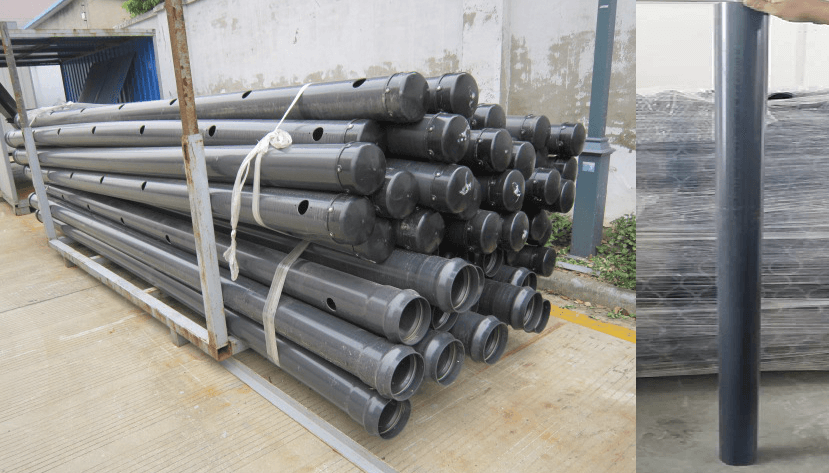 PVC, CPVC, HDPE, GRE, GPR and Cement Pipes