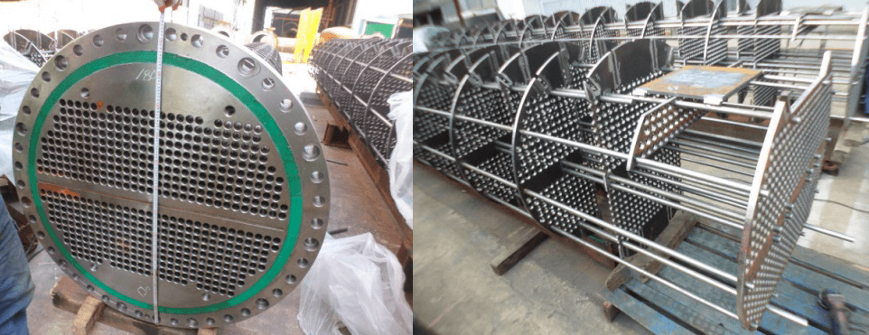 Stainless Steel Heat Exchanger Tube Bundle and Tube Sheet