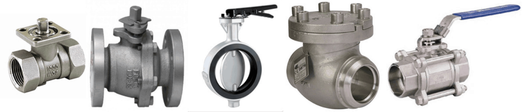Valve End Connection Types