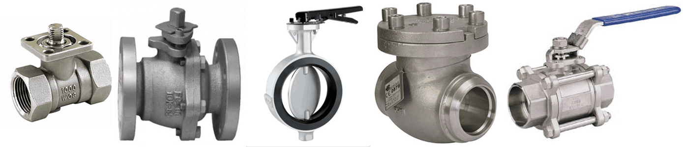 Different Types of Valves used in Piping - A Complete Guide