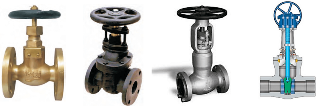types of gate valves