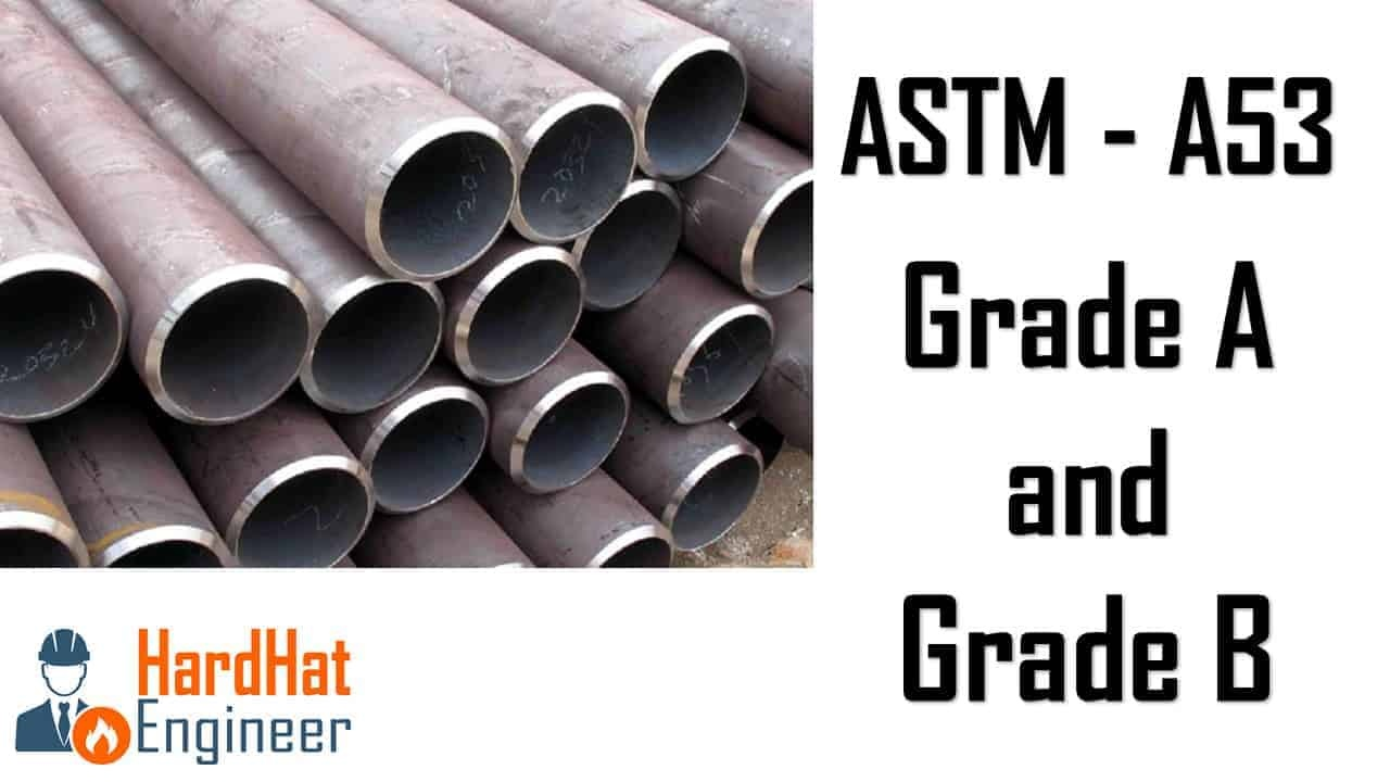 Learn about ASTM A53 Grade A & Garde B Pipe Types and Dimensions