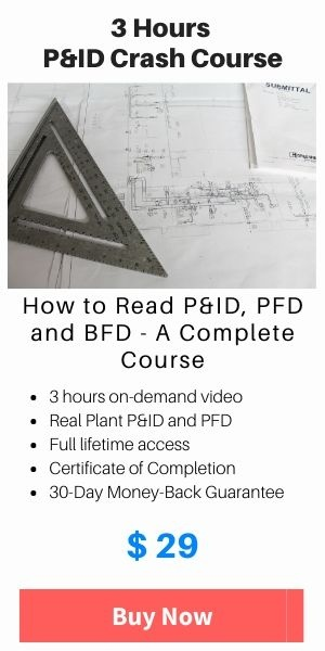 How to read P&ID course
