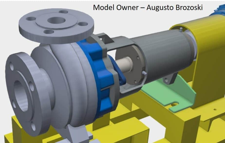Pump suction and discharge flanges