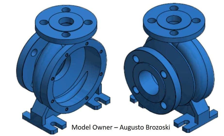 Body / casing of pump